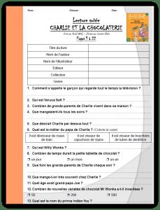 Charlie Et La Chocolaterie Pdf