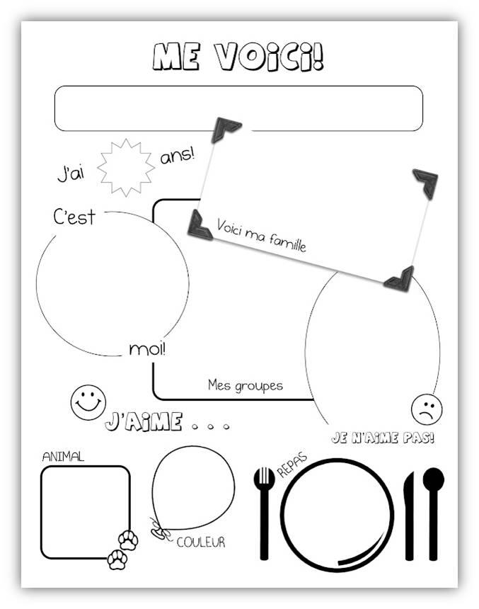 cycle 3 fran ais organisation pr sentation l ve la rentr e. Black Bedroom Furniture Sets. Home Design Ideas
