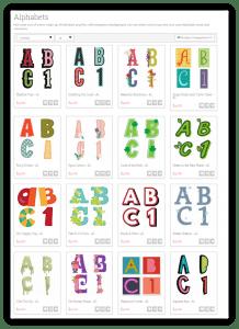 lettering deligth