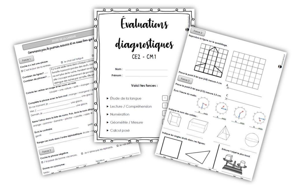 CE2/CM1 • Outils • Evaluations diagnostiques