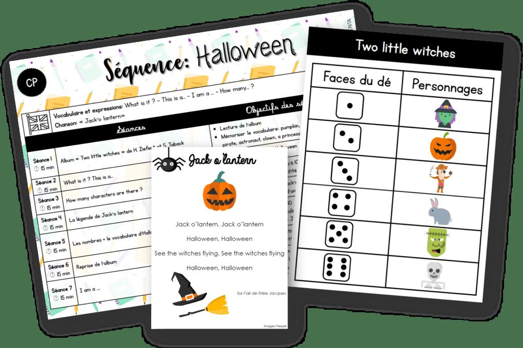 Cp Anglais Sequence Halloween
