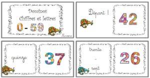 dominos des nombres